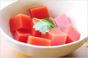 トマト寒天の作り方